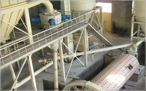 钢介质球磨分级机